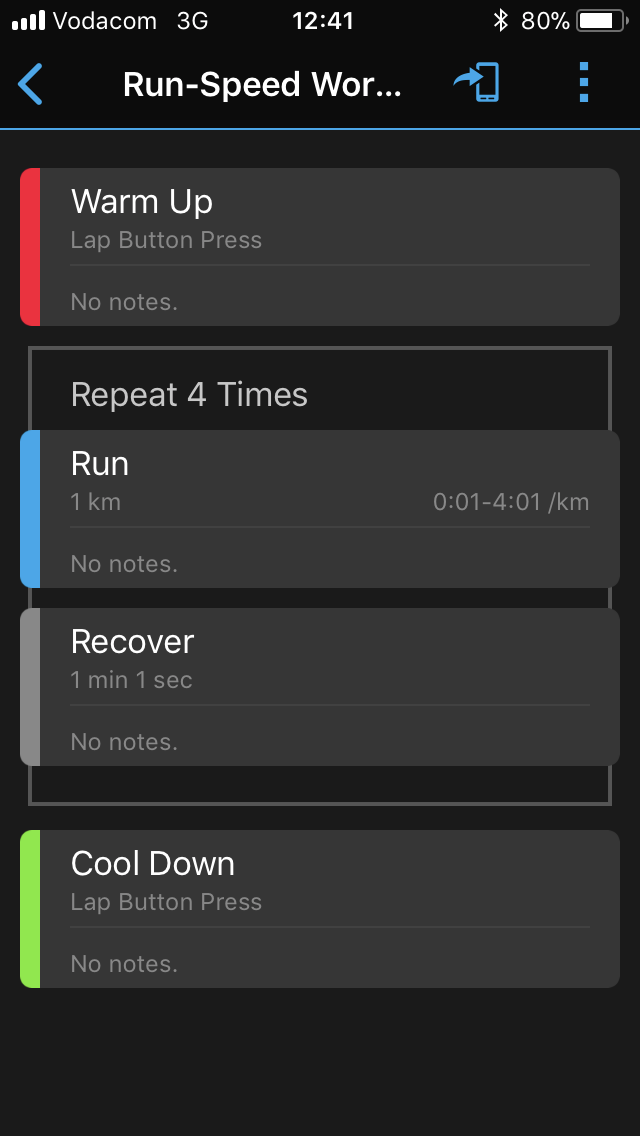 How to program structured workouts on your Garmin device - NavWorld