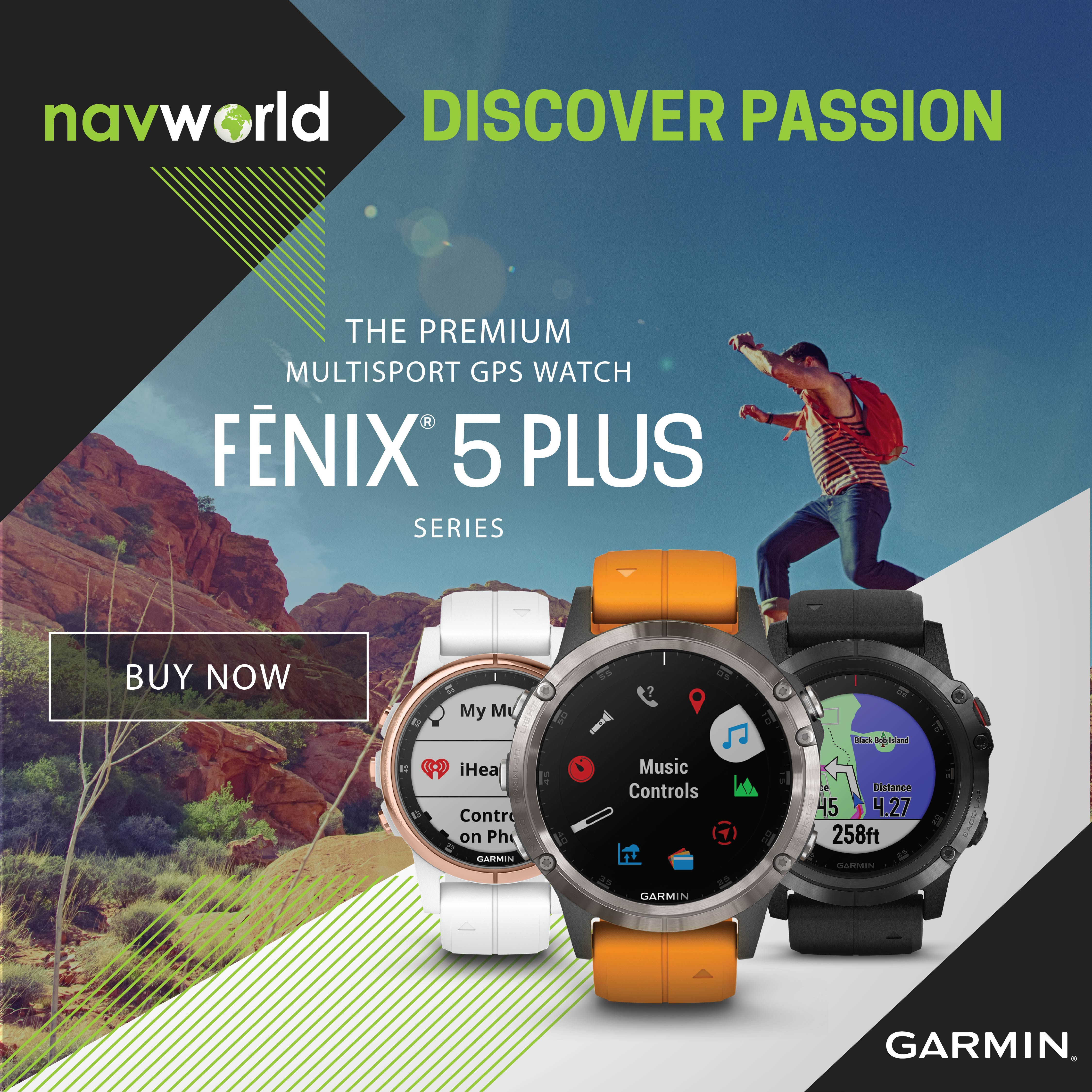 Navworld Fenix 5 Plus Series