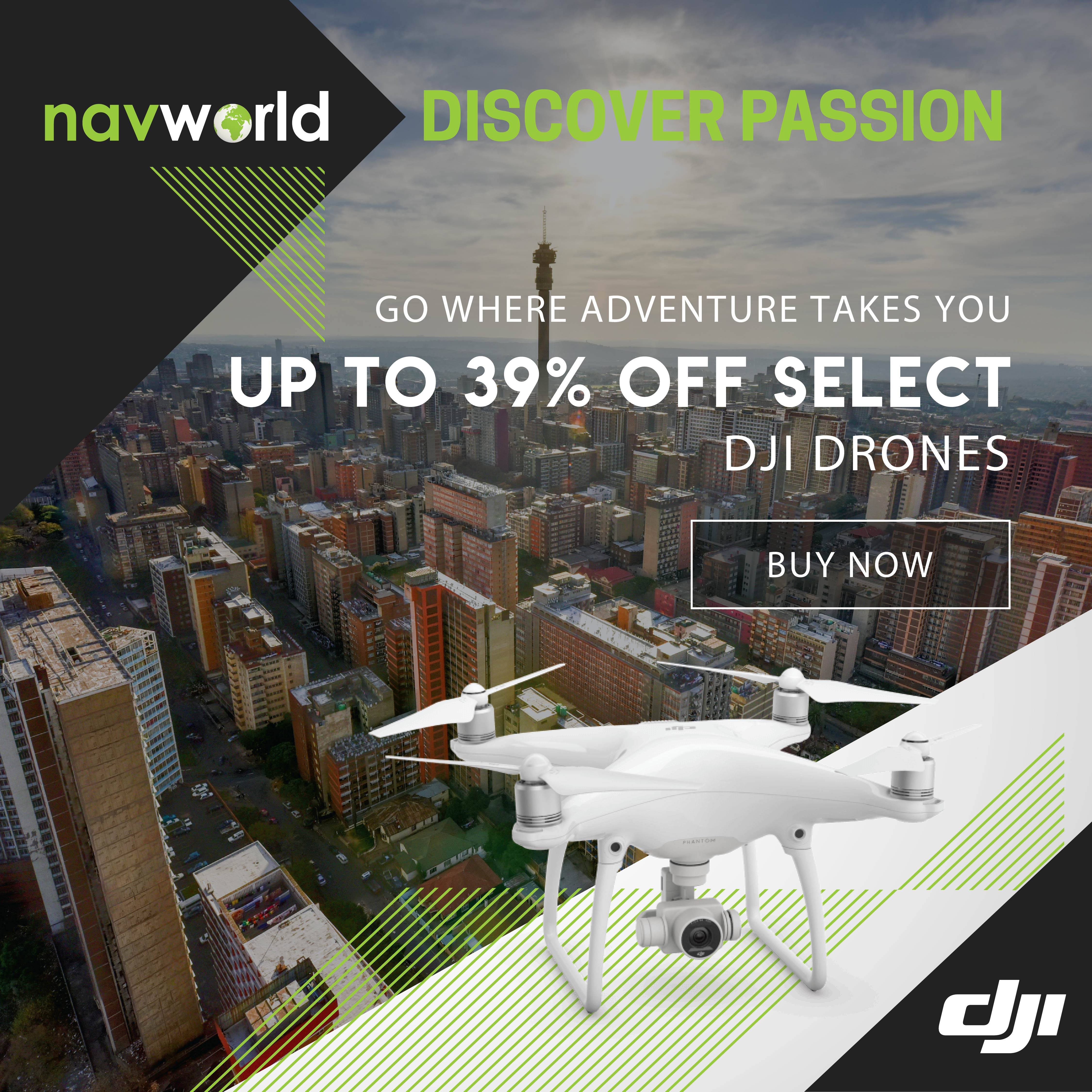 Navworld DJI Promotion